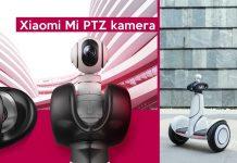 Xiaomi Mi PTZ 1080p kamera bemutató e150320453