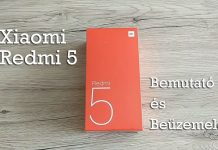 Xiaomi Redmi 5 kicsomagolás és beüzemelés – VIDEÓ! fb7e80d7fb