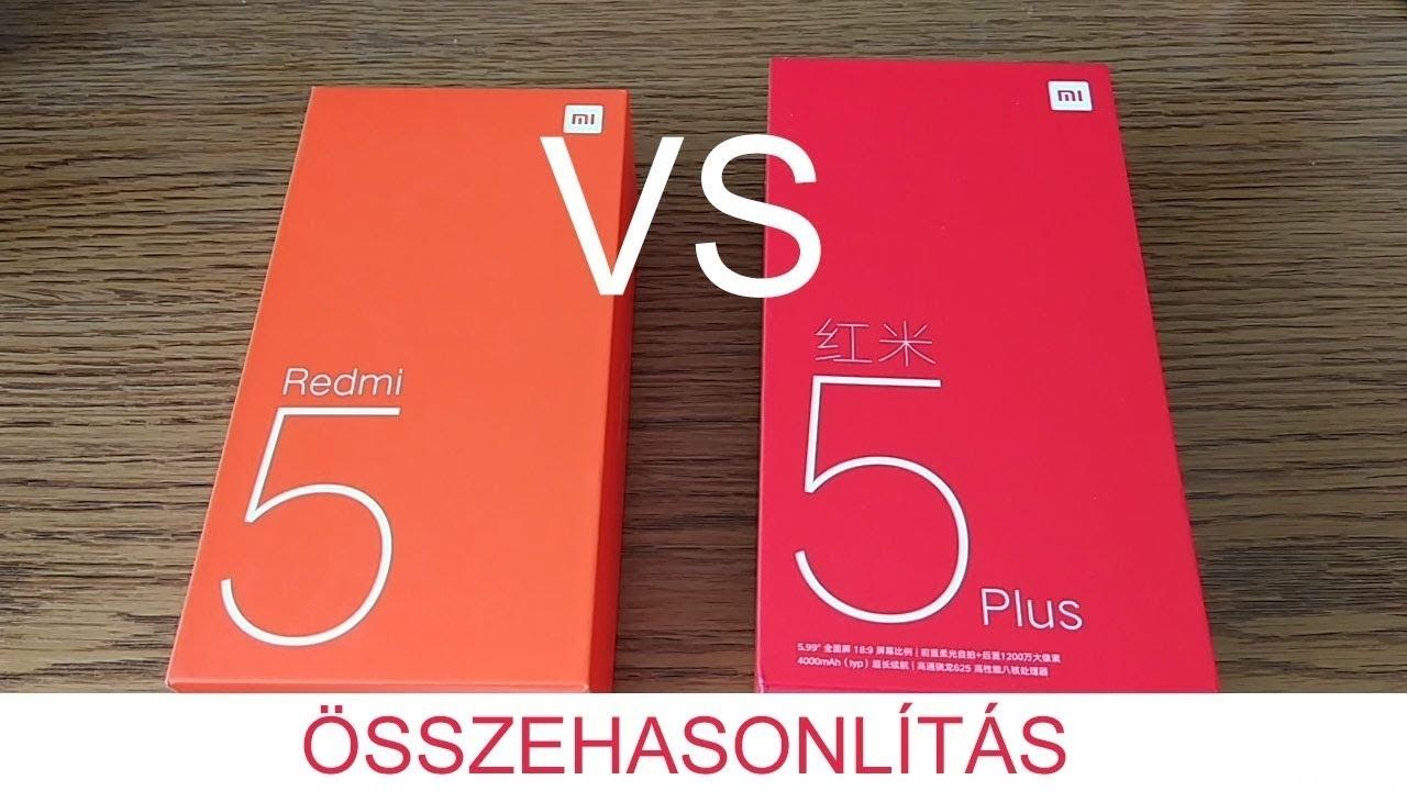 Xiaomi Redmi 5 és Redmi 5 Plus összehasonlítás - Hello Xiaomi 68c9170405