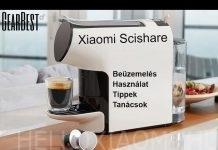 Xiaomi Scishare kapszulás kávéfőző bemutató