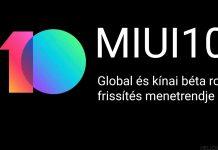 miui 10 frissítés és a kínai munka ünnepe 2019