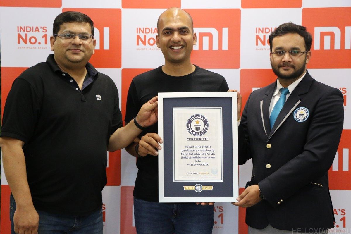 Újabb Guinness rekordot állított fel a Xiaomi - Hello Xiaomi 3f39e163f1