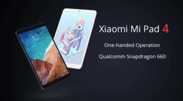 AKCIÓ  Xiaomi Mi Pad 4 jó áron – Gearbest 6aa0c81731