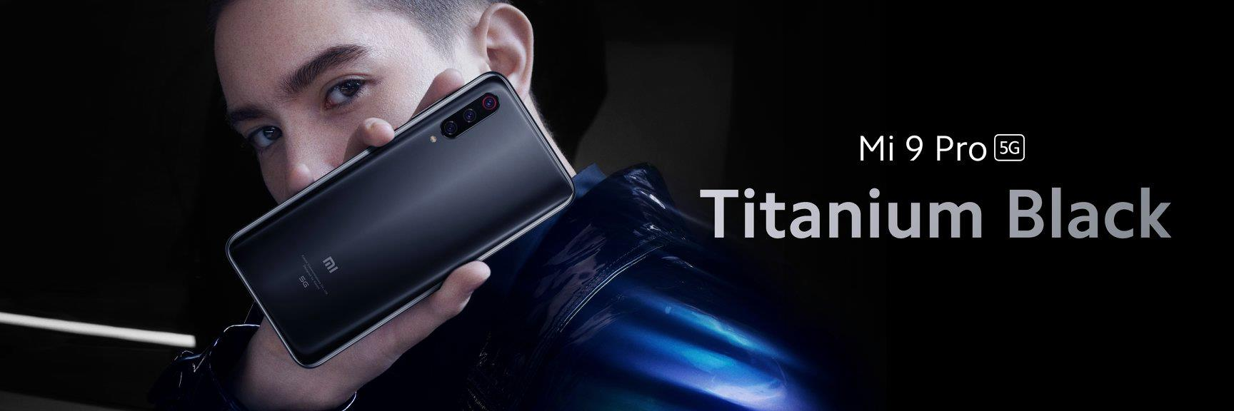 Xiaomi Mi 9 Pro fekete