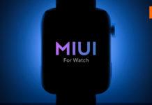 Xiaomi Mi Watch MIUI