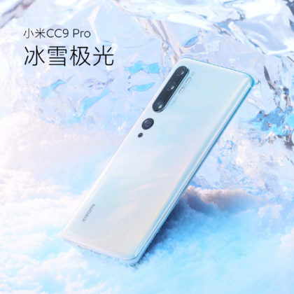 Xiaomi CC9 Pro fehér
