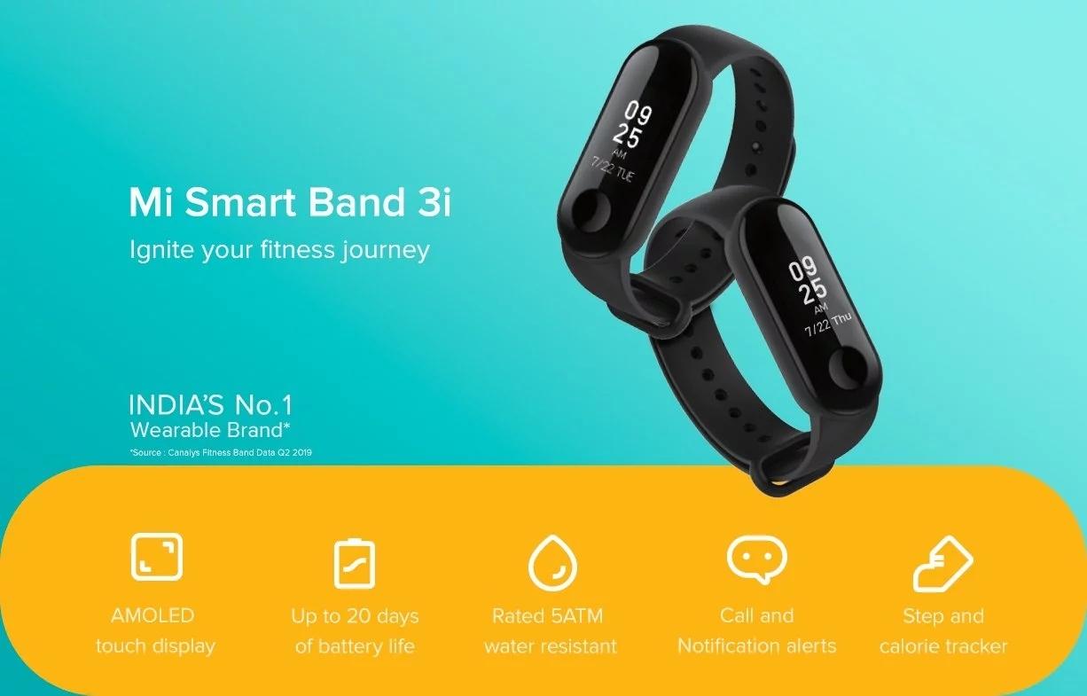 Xiaomi Smart Band 3i