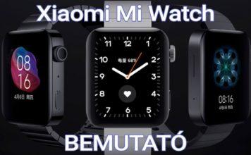 Xiaomi Mi Watch bemutató