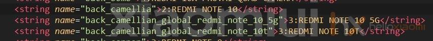Mi kód részlet