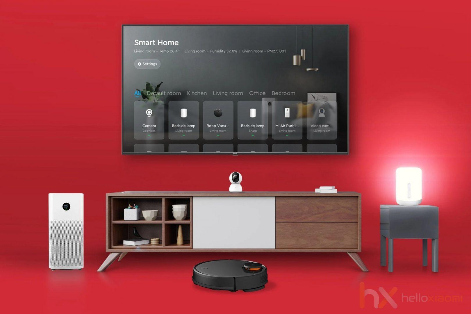 Redmi TV - Mi home