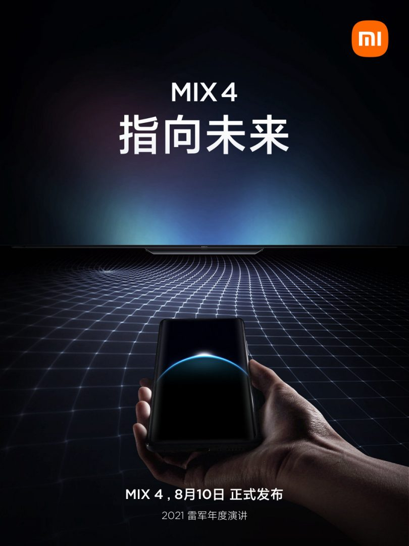 Xiaomi Mi Mix 4 poszter