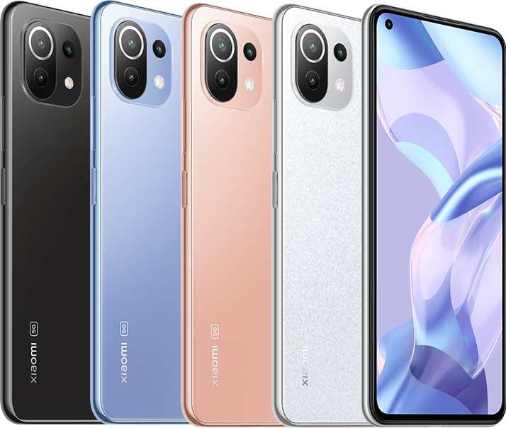Xiaomi 11 Lite 5G NE színek