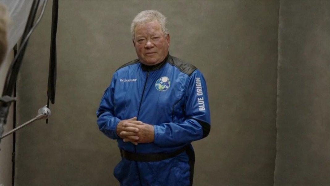 william shatner űrbe utazott